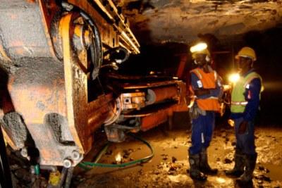 Mining in Zimbabwe.