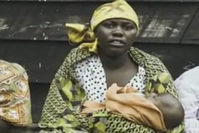 (image archive) - Image issue d'un film sur les violences sexuelles en RDC.