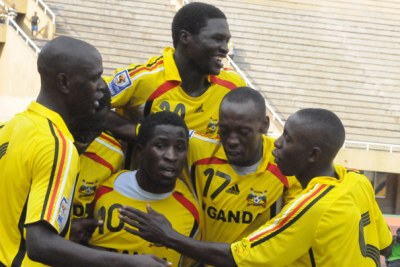 Uganda Cranes (file photo).