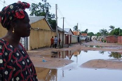 Downtown Banjul.