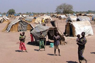 Des refugiés centrafricains.