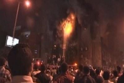 Affrontements entre musulmans et chrétiens dans un quartier du Caire.