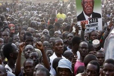 challenger Michael Sata.