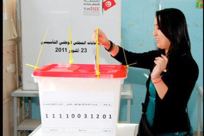 Élection en Tunisie