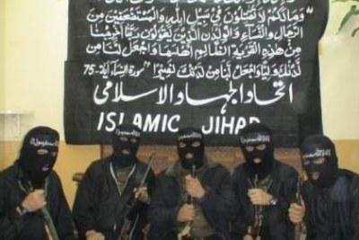 Suspected Boko Haram sect members.