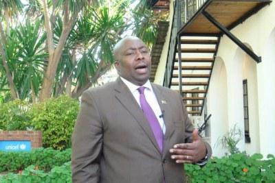 Zimbabwe Minister for Youth Development, Indigenisation and Empowerment Saviour Kasukuwere.