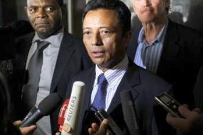 Marc Ravalomanana, candidat à la présidence de la république