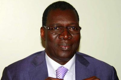 Assane Diop,candidat au poste de directeur général de l'OIT.