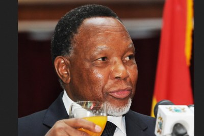 Former South Africa president Kgalema Motlanthe (file photo).