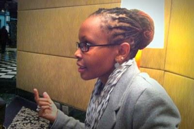 Juliana Rotich, co-fondatrice et directeur exécutif d'Ushahidi,une organisation à but non lucratif qui développe des logiciels qui aident à la collecte et à la diffusion d'informations par SMS, courriel, des formulaires web et twitter.
