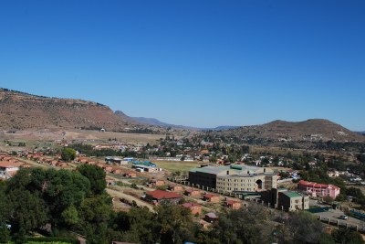 Maseru landscape (file photo).