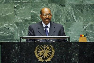 Omar Hassan Al-Bashir, former president of Sudan (file photo).