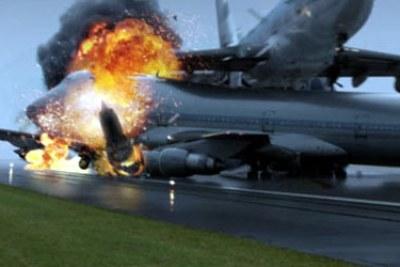 (Photo archives) - Collusion entre deux avions