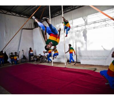 En Ethiopie, le cirque Fekat, un tremplin social