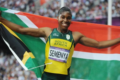 South Africa's Caster Semenya wins silver in the women's 800m finals (file photo).
