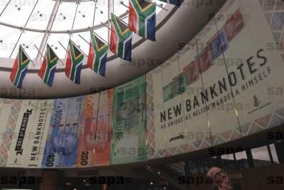 New Mandela banknotes.