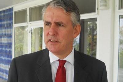 Peter Blomeyer, ambassadeur de l'Allemagne en République démocratique du Congo