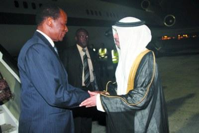 Le président du Faso à Dubaï