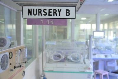 A nursery at a hospital in Nairobi.