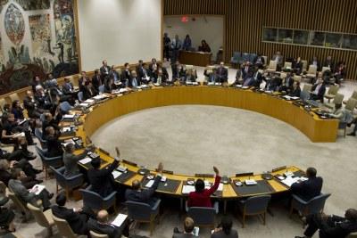Conseil de sécurité des Nations Unies en séance publique