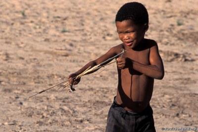 San people of botswana strange opinion