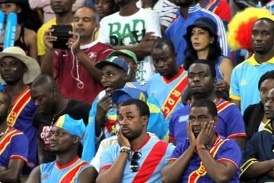 Des supporters de la RDC lors de la CAN 2013 en Afrique du Sud