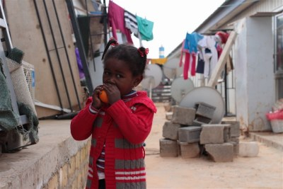 A Tawergha child at an IDP camp in Tripoli two years after the Libyan revolution.