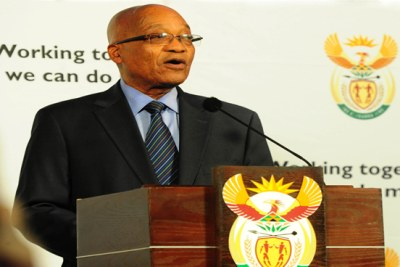 Président Jacob Zuma