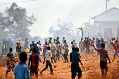 Inter-ethnic violence.
