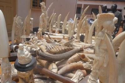 Objets en ivoire