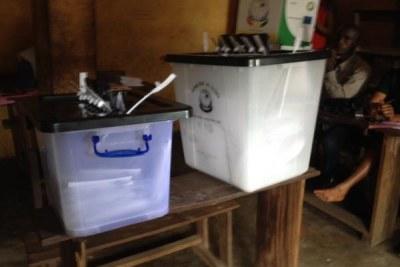 Voting in Guinea (file photo).