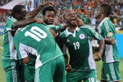 Le Nigeria s'envole pour Brésil 2014
