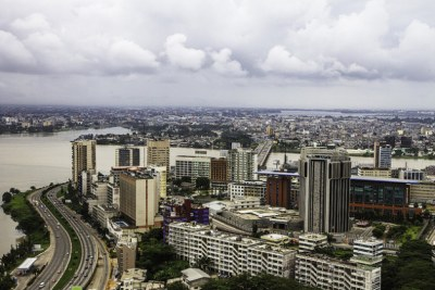 (Photo d'archives) - Abidjan, Côte économique de la Côte d'Ivoire