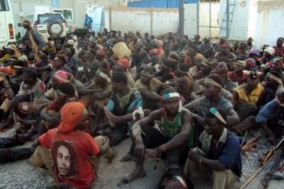 (Photo d'archives) - Des miliciens congolais.