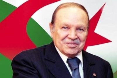 Bouteflika président de la république algérienne