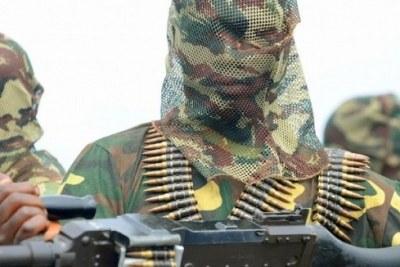 A Boko Haram militant.