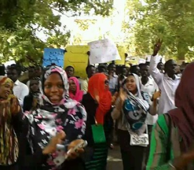 Troops Shoot Protesting Darfur Students