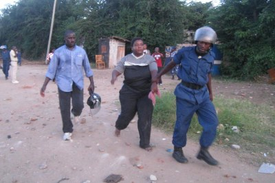Police arrests in previous manifestations (file photo)