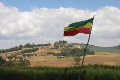 Ethiopian flag.