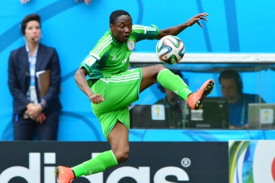 Nigeria's Ahmed Musa provided striker Emmanuel Emenike with a low ball to score, but the goal was disallowed after an offside call which gave the Super Eagles cause to feel aggrieved.