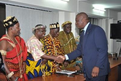 La chefferie traditionnelle ivoirienne