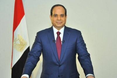 Abdel Fatta Al Sissi président égyptien.