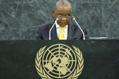 Motsoahae Thomas Thabane, Prime Minister of the Kingdom of Lesotho. (file photo).