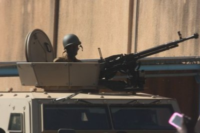 The military has taken control in Burkina Faso (file photo).