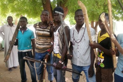 Civilian fighters in the North-East.