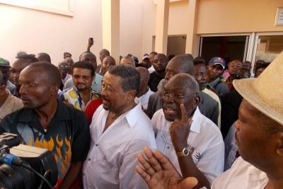 Les leaders de l'opposition gabonaise ont initié une marche pacifique le 13 novembre