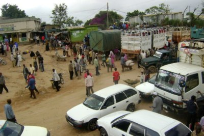 A view of Moyale, a border town that spans Kenya and Ethiopia (file photo).