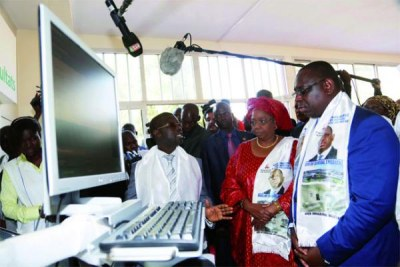 L'Unité de Cardiologie Interventionnelle et le web radiologie numérisée de l'hôpital Aristide Le Dantec ont été inaugurés mardi 20 janvier 2015, par le  président de la République, Macky Sall.
