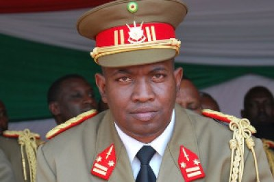 Major-General Godefroid Niyombare, who announced a coup in Burundi.