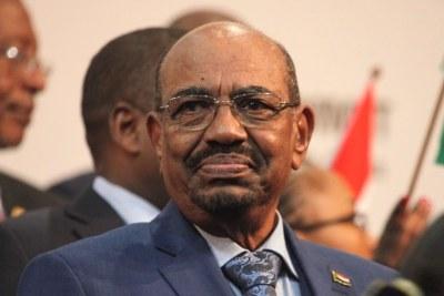 Omar El-Bechir, Président du Soudan au 25 Sommet de l'Union Africaine à Johanesburg (Afrique du Sud)